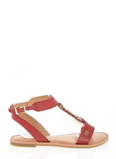 Tommy Hilfiger Sandalet Kırmızı